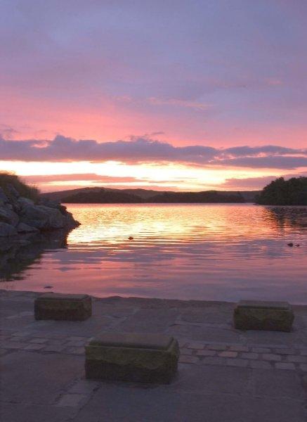 Water's edge at dawn