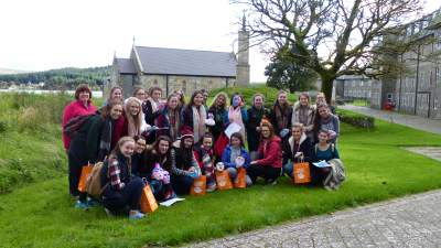 Sacred Heart Grammar School Newry - School Retreat on Lough Derg Sept 2016 reduced size