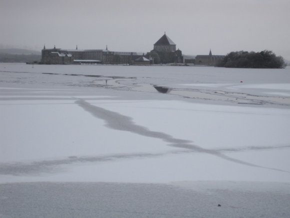 Frozen....