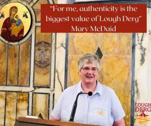Mary McDaid Lough Derg